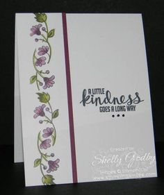 Clean and simple card with Stampin' Up! Blendabilities - Stamping ...