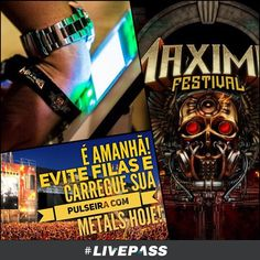 #METALS #MaximusFestival #Livepass Vamos lá que agora falta pouco para o #MaximusFestival #Livepass #Halestorm, #Disturbed, #Hellyeah, #Shinedown, #BlackStoneCherry, #Raveneye, #SteveSeagulls, #DoctorPheabes, #Project46, #FarFromAlaska, #EgoKill #TalentWoslow e #Hollywood