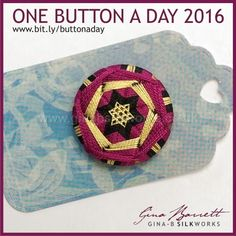 Day 130: Met Star #onebuttonaday by Gina Barrett