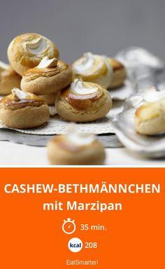 Cashew-Bethmännchen - mit Marzipan - smarter - Kalorien: 208 kcal - Zeit: 35 Min. | eatsmarter.de