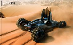 future, Peugeot Dune Buggy Concept, vehicle, futuristic, Tiago Aiello, auto, transportation, car, automobile