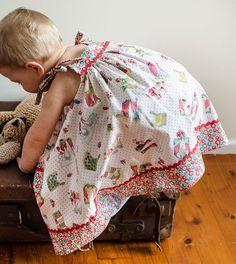 Daisy Sun Dress PDF Sewing Pattern Baby Girls by FelicityPatterns