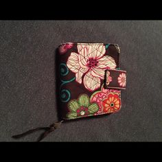 Very Bradley wallet Has light stains inside and a slight torn corner as seen in pics Vera Bradley Accessories