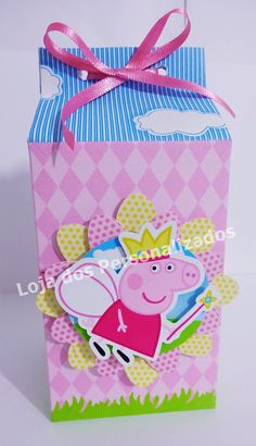 Caixa Milk Personalizada Peppa Pig | Loja dos Personalizados | Elo7