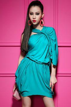 Sexy Asymmetric Dress - OASAP.com