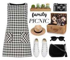 """""""Family Picnic"""" by pure-vnom ❤ liked on Polyvore featuring Dorothy Perkins, Picnic Time, Converse, Vince Camuto, Lack of Color and picnic"""