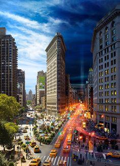 Flatiron 9/11, NYC -