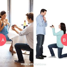 Who should propose?  Click here to vote @ http://getwishboneapp.com/share/720263