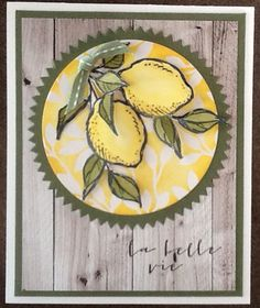 La Vie Belle (A Happy Thing in english)- Stampin Up SAB 2015