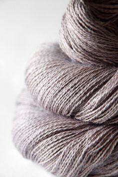 Dyeing rose - Baby Alpaca / Silk yarn