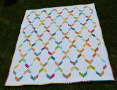 Streamers Quilt - Quilted Living Blog Hop