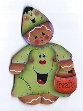 Hp Pan de Jengibre Halloween Disfraz Nevera Imán