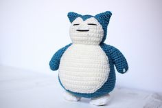 Ravelry: Snorlax Amigurumi pattern by Cathrine Johansson
