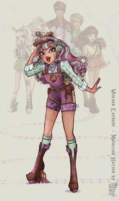 Wonder Express - Madeline H. by princeivythefirst.deviantart.com on @DeviantArt