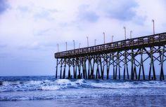 Pier at Ocean Isle North Carolina