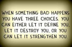 Three Choices