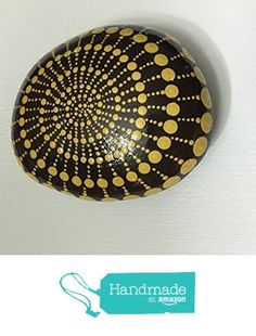 Mandala Stone #71 from Mafa Stones http://www.amazon.com...A perfectly swirled and magical mandala!