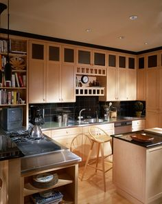 Kermes Interior Design latest picture of  living room and kitchen