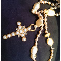 Hand knotted pearl Rosary/Prayer Beads find glass pearls at http://www.ecrafty.com/c-595-glass-pearls.aspx