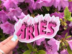 Love Pink Wallpaper, Cheetah Print Wallpaper, Aries Aesthetic, Pink Aesthetic, Zodiac Art, Aries Zodiac, Tumblr Stickers, Cute Stickers, Pink Pages