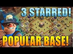 THis is the clash of clan strategy video on how to get 3 stars with miners