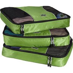 eBags Large Packing Cubes - 3pc Set: Luggage : Walmart.com