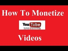 How To Monetize Youtube Video And Make money Online Unlimited: How to Monetize Your YouTube channel with Adsense? How to make money with…
