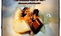 Samoussa poires-chocolat