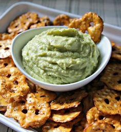 Avocado Hummus. Seriously.  Someone make this for me