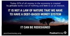 Join a movement for a money and banking system that works for society and not against it.