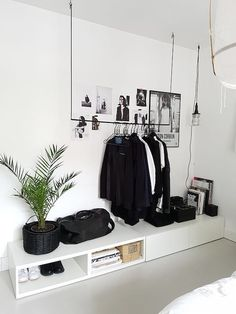 Best Scandinavian Home Design Ideas. 32 Insanely Cute Interior Design To Keep Now – Cosy Interior. Best Scandinavian Home Design Ideas. Minimalist Bedroom, Minimalist Home, Minimalist Apartment, Home Bedroom, Bedroom Decor, Bedroom Ideas, Ikea Bedroom, Bedroom Inspiration, Bedroom Wardrobe