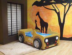 Kinderbett Autobett Safari NEU & OVP Safari, Jeep, Disney Characters, Fictional Characters, Ebay, Robins, Autos, Shapes, Robin