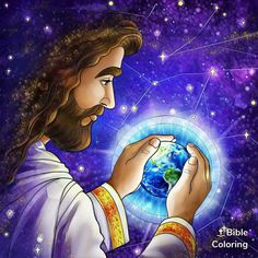 Image Jesus, Jesus Christ Images, Jesus Is Risen, Jesus Is Lord, King Jesus, Coloring Apps, Colouring Pics, Adult Coloring, Christian Art