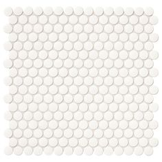 Daltile Finesse Glossy White 12 in. x 13 in. x 6.35 mm Porcelain Mosaic Tile-FE0811PNYRDHD1P - The Home Depot