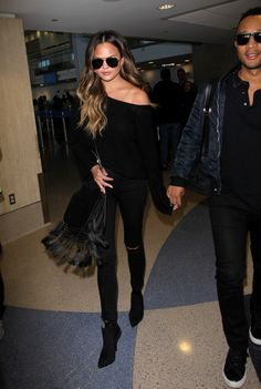 Black is—and will always be— my favorite color to dress in. It manages to say so much, while saying so little. It's always in season, always on-trend and always a go-to for women in fashion. ...