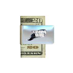 Tampa Bay Devil Rays Pewter Emblem Money Clip