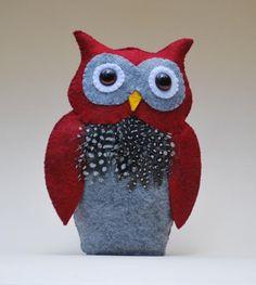 How to make a Felt Owl | Felt