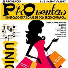 El 1 y 2 de abril Proventas 2017 en #ElProvencio