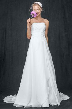 Gown by David's Bridal Collection