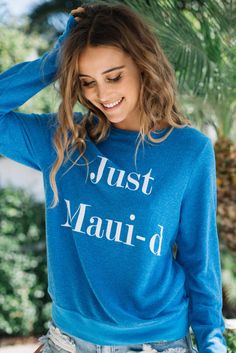 Wildfox Couture: Just Maui-d sweatshirt
