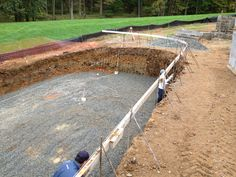 The start of this pool is looking great! Wait and see what it will look like in the end