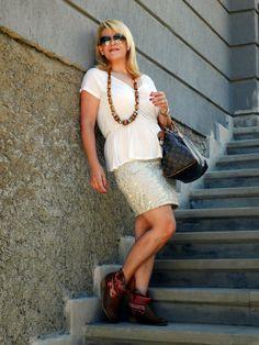 AS Style & Design: Sequin skirt