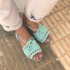Menorquinas Lolita a crochet de Missaquitos Espadrilles, Sandals, Shoes, Fashion, Espadrilles Outfit, Moda, Shoes Sandals, Zapatos, Shoes Outlet