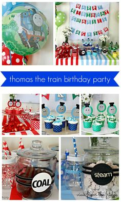 Thomas The Train Birthday Party | View From The Fridge