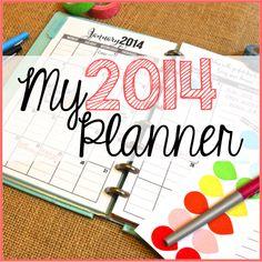 My 2014 Planner