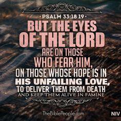Psalm 33:18-19