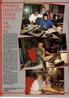 Radio 1 On Show ' 85 - Studio Micro Studio, Bbc Radio 1, Old Time Radio, Radios, Technology, Actors, Music, Tech, Musica