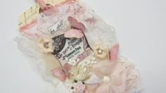 Wedding Gift Tag Handmade Tag Lace Collage by underthenightmoon, $14.00