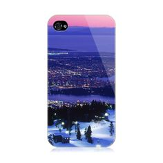 Blue Hits Snow iPhone 4/4S Case