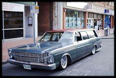 1966 Ford Galaxie 531 by retrophotouk bagged wagon Classic Cars Usa, Station Wagon Cars, Beach Rides, Sports Wagon, Ford Galaxie, Air Ride, Automobile, Hot Cars, Vintage Cars